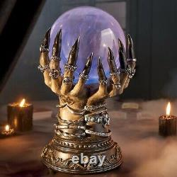 Deluxe Celestial Crystal Plasma Ball Halloween Prop NEW