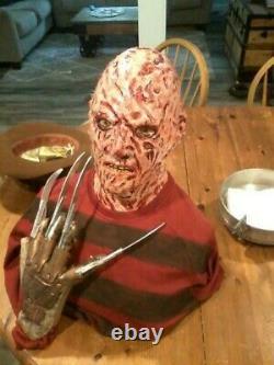 Freddy Krueger Lifesize Zombie Mannequin Horror Bust Halloween Prop Horror P