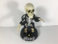 Gemmy Grave Raver Grovin Ghoul Skeleton Livin La Vida Loca Halloween SEE VIDEO