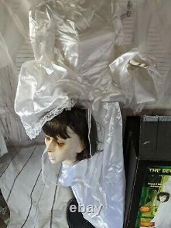 Gemmy life-size beheaded bride animated Halloween prop 2008
