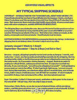 Ghosts, Spiders, Halloween Window Projection DVD 2015 Combodeal Jon Hyers