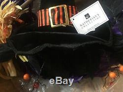 Grandin Road HOCUS POCUS Wreath Halloween Decor NEW OLD STOCK 28-828922