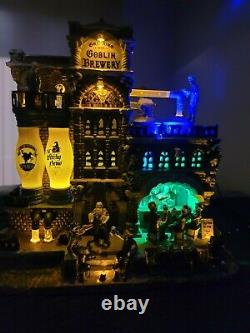Grinning Goblin Brewery 2011 Lemax Spooky Town NewithOther Never Displayed