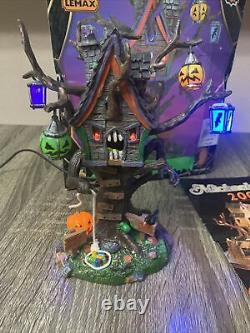 HUNGRY TREE HOUSE 2006 Lemax Spooky Town Collection HALLOWEEN MAN EATING TREE