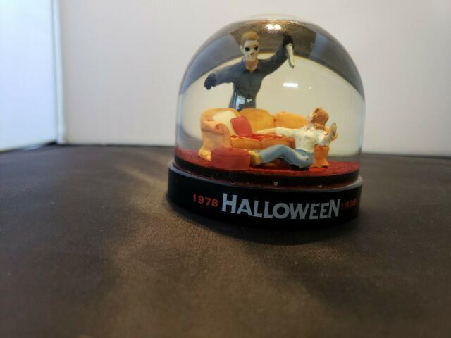 Halloween 20th Anniversary Blood Snow Globe Michael Myers Anchor Bay 1998 Horror