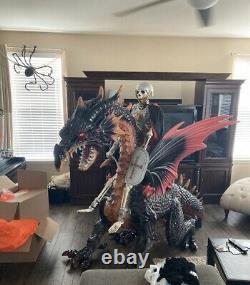 Halloween 69 in. Animated Giant Dragon without Fog Machine (NIB)