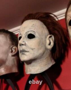 Halloween 6 Michael Myers Halloween Brad Hardin Mask With Coveralls costume