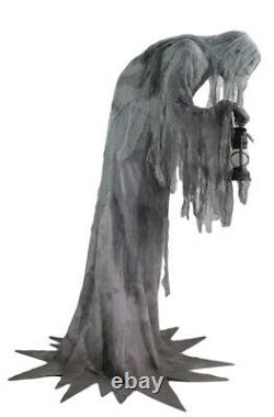 Halloween Animated Life Size Wailing Phantom Ghoul Decoration Sounds Yard Decor