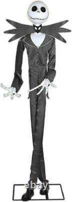 Halloween Animated Lifesize Jack Skellington 6'4 Prop -haunted House Gemmy