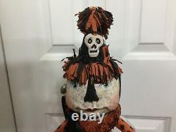 Halloween Bethany Lowe Debra Schoch Large 21 Retied Papier Mache
