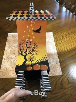 Halloween Carolee Clark King of Mice Studios OOAK Highly Collectible FolkArt