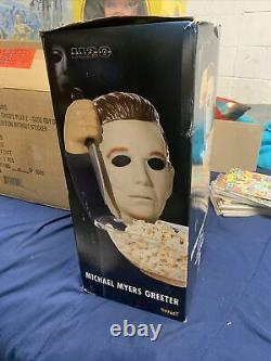 Halloween H2o Michael Myers Greeter Brand New In Box Candy Bowl Included Soldout