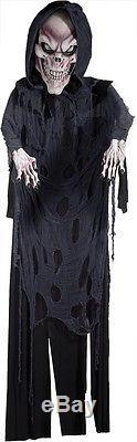 Halloween Huge 12 Ft Reaper Man Skull Prop Decoration Haunted House