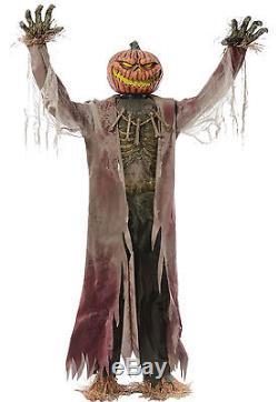 Halloween Life Size Animated Corn Stalker Man Prop Decoration Haunted House