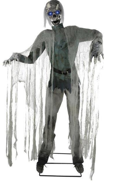 Halloween Life Size Animated Twitching Ghoul Prop Decoration Haunted House