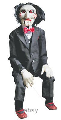 Halloween Saw Billy Horror Puppet Prop Decoration Trick Or Treat Studios