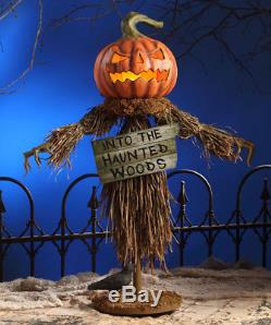 Halloween Scarecrow Bethany Lowe collectible decor tj6227 NEW