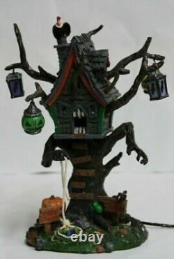 Halloween Spooky Town Collection Lemax 2006, HUNGRY TREE HOUSE, RETIRED