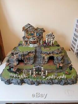 Halloween Village Display Base Platform For Dept 56 or Lemax Spooky Town