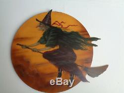 Halloween Witch Bonnie Barrett Dummy Board signed ORIGINAL NOT Bethany Lowe