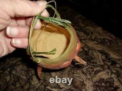 Halloween paper mache carrot bucket, bethany lowe design. Exc. Cond. RARE