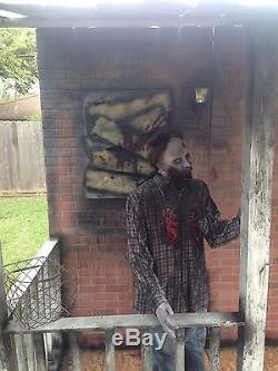 Haunted House Facade Halloween Props Decorations