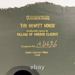 Hawthorne Village Texas Chainsaw Massacre, Hewitt House withFigures, Light & COA
