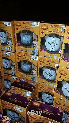Huge Lot Halloween Carving Kits, Pumpkin Decorating Kits and More Retail $2300