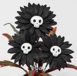 Hyde & EEK! Target Hyde and EEK 2021 Ghoulish Garden Lot Of 5 Flowers Set