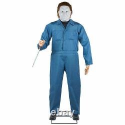 In Stock Halloween Life Size Michael Myers H2 Animated Prop 6 Ft -gemmy