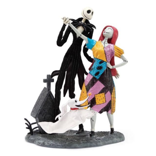 Jack Sally And Zero The Nightmare Before Christmas Dept 56 6000808