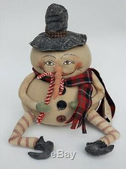 Joe Spencer Doll Gathered Traditions Pumpkin Gourd Gallerie II Ernie withtags