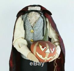 Joe Spencer Halloween Headless Horseman Hans Gathered Traditions Rare