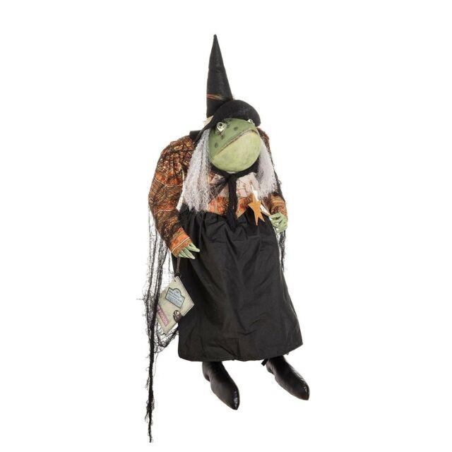 Joe Spencer Winifred Toad Witch Doll! New
