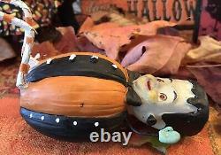 Johanna Parker Transpac Frankie and Frankensteins Bride Sitter Halloween RARE