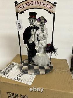 KATHERINES COLLECTION TILL DEATH DO US PART HALLOWEEN 11 Bride Groom