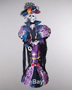 Katherine's 2013 Halloween Consuelo De Muerte Skeleton/witch Doll 34