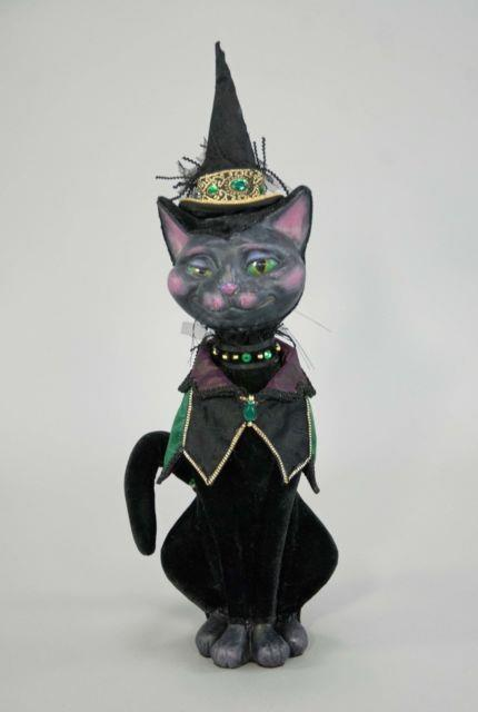 Katherine's Collection 18 Spellbound Halloween Witch Cat New In Box