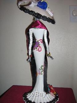 Katherine's Collection 2016 Halloween Frida Love Catrina Figure 28-628174 Whit