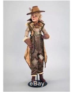 Katherine's Collection 24 Gilded Seasons Scarecrow Doll NEW 28-728454