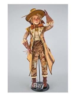 Katherine's Collection 32 Gilded Seasons Scarecrow Doll NEW 28-728455