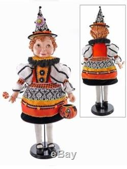 Katherine's Collection 32 Tricky Treats Halloween Gretel Doll New SOLD OUT
