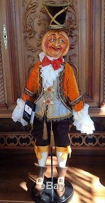 Katherine's Collection 36 Lord Weston Wheatley Halloween Pumpkin Doll SOLD OUT
