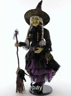 Katherine's Collection Brunhilda Witch Doll 24 NEW 28-928541