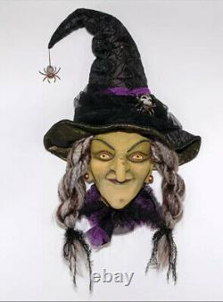 Katherine's Collection Brunhilda Witch Wall Mask NEW Halloween 28-928551