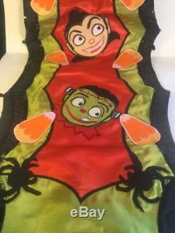Katherine's Collection Candy Halloween Table Runner NEW Retired