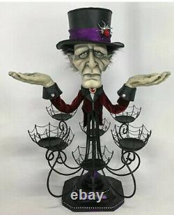 Katherine's Collection Chandelier Cupcake Stand 28-028630 Halloween 25 Old Man