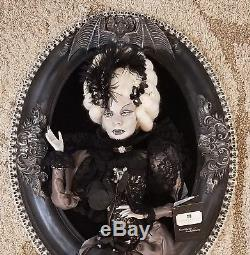 Katherine's Collection Countess Oval Frame Halloween Vampire Portrait