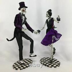 Katherine's Collection Dancing Skeleton Couple 22 28-028684