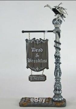 Katherine's Collection Dead & Breakfast Sign 28-828207 Halloween 23